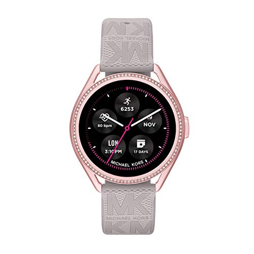 Michael Kors Smartwatch GEN 5E MKGO Connected da Donna con Wear OS by Google, Frequenza Cardiaca, GPS, Notifiche per Smartphone e NFC