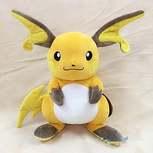 Plüschtier Anime Spiele Pikachu Serie Neue 30CM Raichu plüsch Spielzeug Swire rüstung gefüllte Spielzeug EINE Geburtstag Geschenk für Kinder.