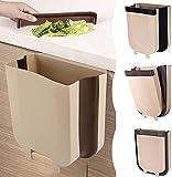 Tang Yuan Cubo de basura plegable para cocina, oficina, dormitorio (9 litros)