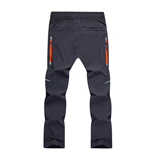 Ynport CrefreakMens Cycling Pants Breathable Quick-Dry Hiking Athletic Waterproof Trousers for Multi Sports