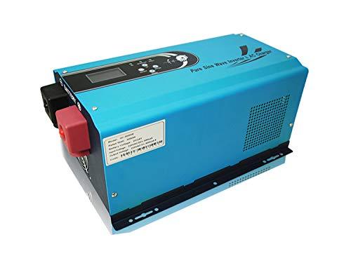 B2KEY® Reine Sinus Wechselrichter Power Frequenz Maschine Photovoltaik Wechselrichter Solar Wechselrichter Lademaschine 5000W DC 24V / 48V bis AC 220V