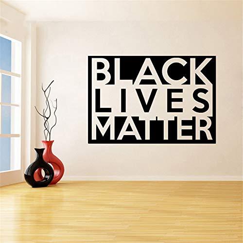 stickers muraux cuisine carrelage Black Lives Matter pour le décor du salon
