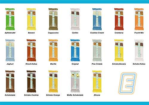 Energy Cake 24er Mix Box - Original Fitness Riegel mit verschiedenen Sorten zum Probieren - der Oatmeal Sattmacher - 24x 125g (3kg)