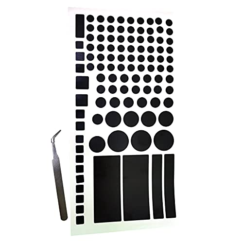 100% Black-Out Sticker, Light Dimming Sticker,LED Cover Sheets for Routers, Clocks and Electrical Appliances