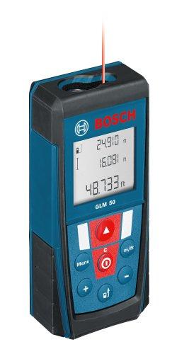 Bosch GLM 50 Laser Distance Measurer with 165-Feet...