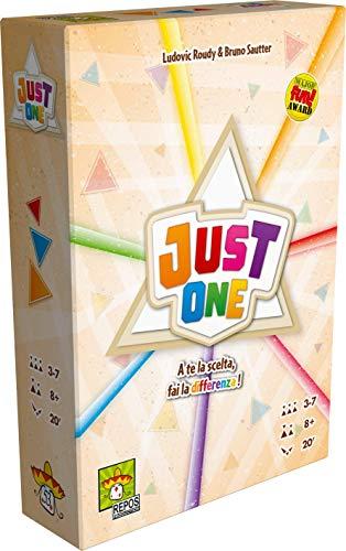 Asmodee Italia Just One juego de mesa, Color Amarillo, 8645, versión italiana...