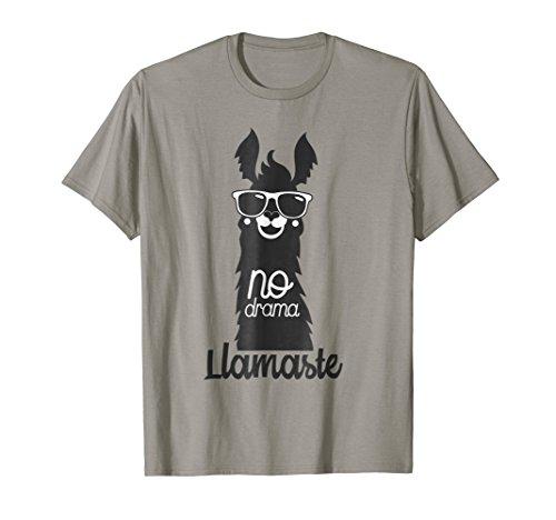 Funny LLAMASTE Llama & no drama Tshirt