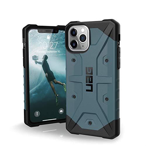 Urban Armor Gear Pathfinder Apple iPhone 11 Pro (5.8') Cover Protettiva Rugged Custodia (Compatibile Con il Qi Wireless, Ultra Slim Protezione Case, Antiurto) - blu ardesia