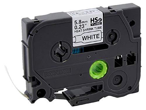 Brother HSE211 HSe-211 Schrumpfschlauchkassette, Breite: 5,8 mm