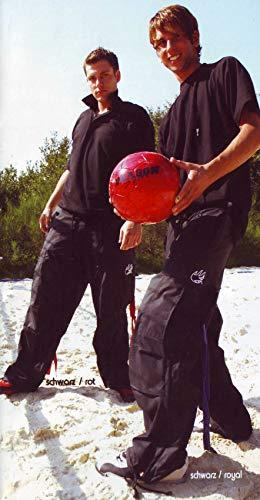 DragonSport Hose Breakdance, Größe:XL/XXL, Farbe:schwarz/rot