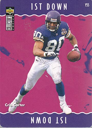 1996 Collector's Choice Update Football You Make The Play #Y55 Cris Carter