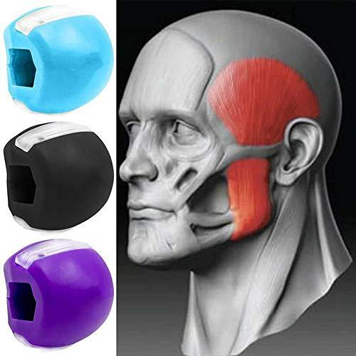 Gesichtsstraffer Ball Kiefer-übungsgerät Jawline Trainer Ball Men Geeignet Für Gesicht, Gesichtsmuskeln Trainieren (3color)