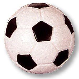 5pezzi Kicker calcio, calcio Orig. 32mm, colore: nero/bianco peso 17G