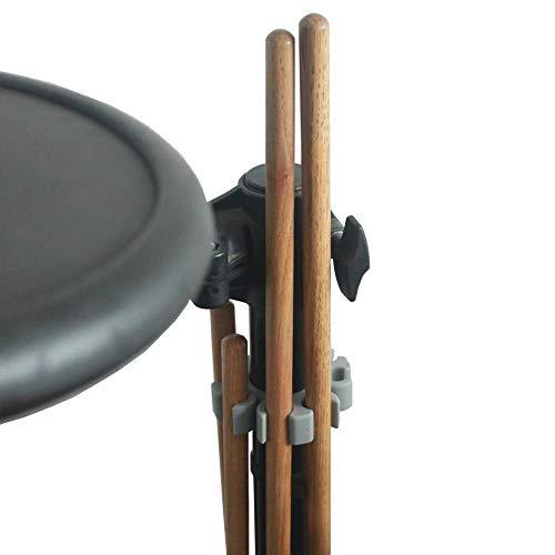 YINGDATETUI Drum Set Montage Hardware Teile Schnelldrumstick Halter for Elektro Drum Roland Yamaha Drum Sticks Speicherhalterung Ständer Clip Zubehör
