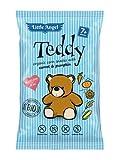 TEDDY mini patatine di mais carote e zucca da 7 mesi (senza glutine) BIO 30 g Little Angel