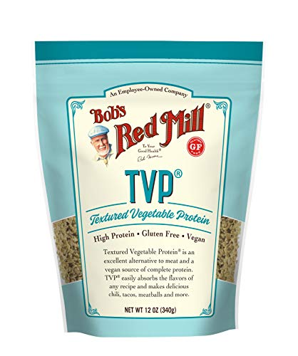 TVP (Textured Vegetable Protein),12 Ounce (Pack of 1)