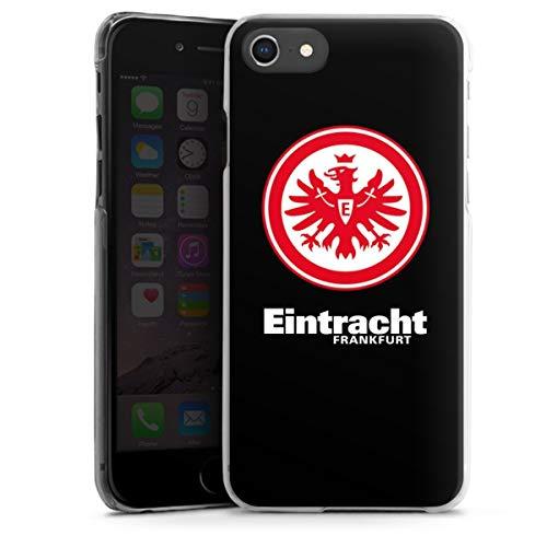 DeinDesign Hard Case kompatibel mit Apple iPhone SE (2020) Schutzhülle transparent Smartphone Backcover Eintracht Frankfurt SGE Adler