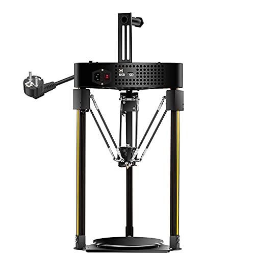 BOROCO Q5 Delta 3D Drucker 200x200mm Druckgröße mit Gitterglasplattform Touchscreen Auto Leveling System für Verbrauchsmaterial PLA ABS TPU Hips