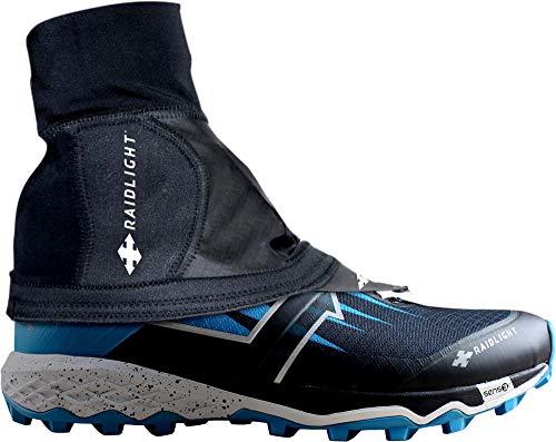 RaidLight Unisex Hyper Trail Gaiters, Black, Large