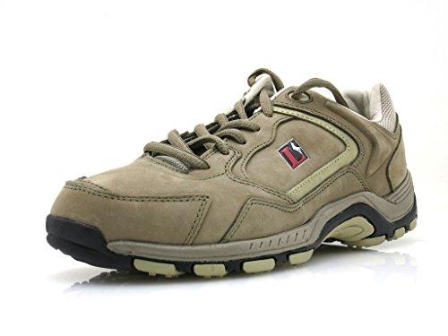 Lackner Wanderschuhe Trekkingschuhe Lederschuhe Leder Schuhe 6732 6754 Farbe Sand, Schuhgröße 40