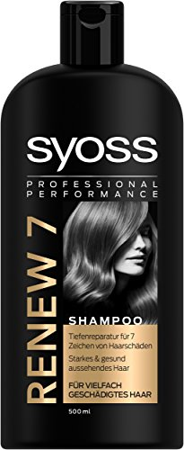 Syoss Shampoo Renew 7, 3er Pack (3 x 500 ml)