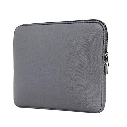 Hülle2go Toshiba Tecra Laptoptasche - Laptop Hülle - Schutzhülle für Laptops - 15.6 Zoll - Grau
