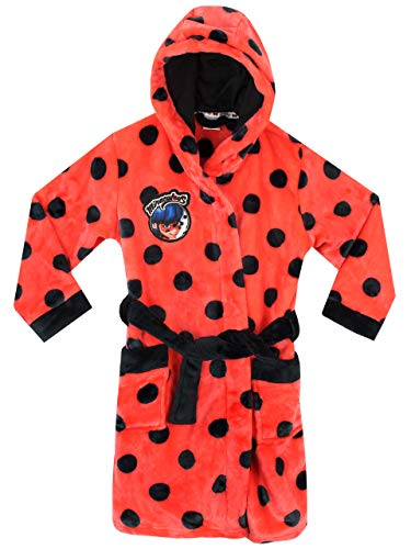 Miraculous Vestaglia da Notte per Ragazze Ladybug Multicolore 5-6 Anni
