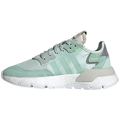 adidas Womens Nite Jogger Lace Up Sneakers Shoes Casual - Green - Size 11 M