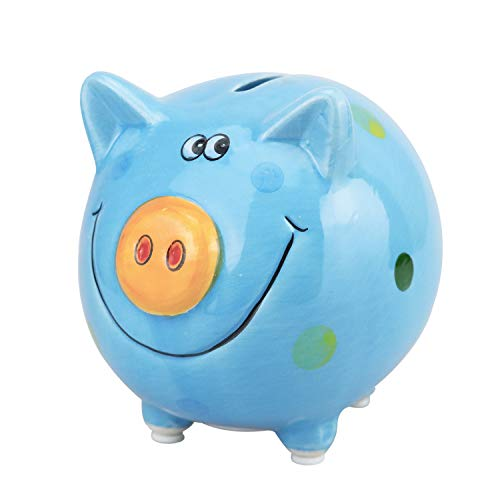 VANVENE Lovely Pig Piggy Bank for Boy and Girls, Coin Bank Money Bank, Best Birthday for Kids, Home Decoration, Favorite Unique Baby Gift Idea