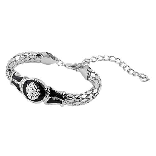 Legering & Strass Dames Legering Armband Lions Head Bangle Lovers Gift Gouden / Zilveren Mode Dames Feestaccessoireszilver
