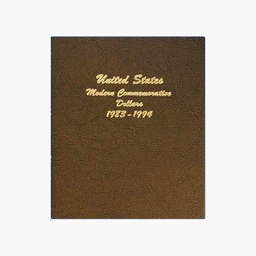 Dansco 7065-1 US Modern Commemorative Dollar Set Coin Album 1983 – 1994