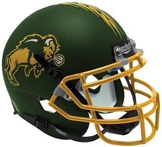 NORTH DAKOTA STATE BISON Schutt AiR XP Full-Size REPLICA Football Helmet NDSU (MATTE GREEN)