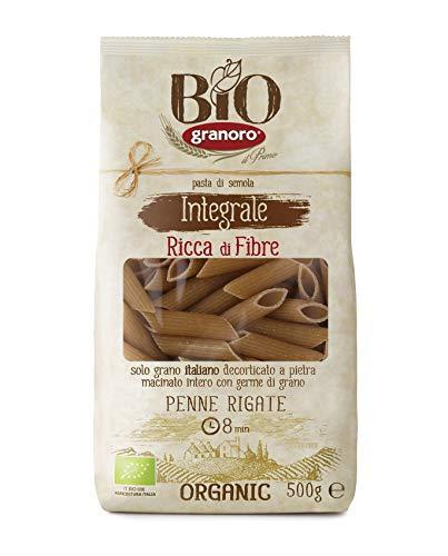 Granoro Bio Integrale Penne - Confezione da 10 x 500 g, Senza glutine