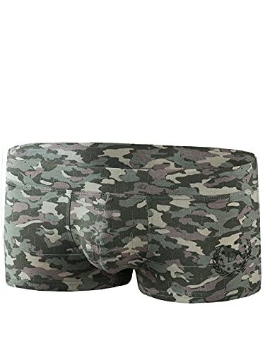 Doreanse Underwear Männer Trunk Herren Hipster Modal Boxershort Camouflage XL