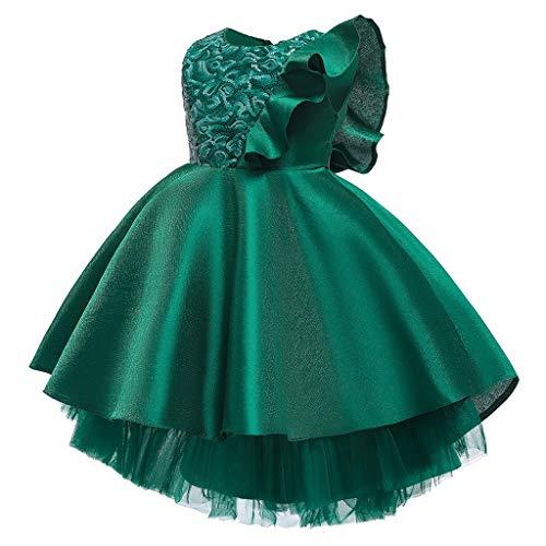 K-Youth Tutú Vestido Princesa Niña Vestidos de Novia Chica Vestido de Dama...