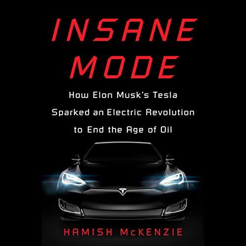 Insane Mode audiobook cover art