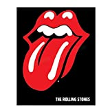 The Rolling Stones Band- Poster Print'Greatest Hits Album Cover'-8 x 10' Wall Print-Ready To Frame- Vintage Tongue. Home-Studio-Bar-Dorm-Man Cave Decor. Perfect For All Rolling Stones Fans.