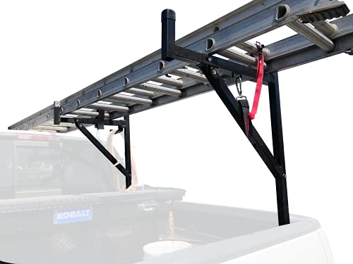 MaxxHaul 70233 Heavy Duty Ladder Rack. , Black