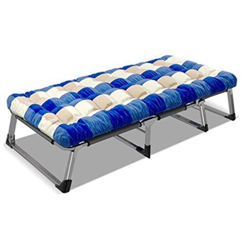 Haushaltsprodukte Klappbett Einfache Aufbewahrung Klappbett Zustellbett mit Matratze für Erwachsene Klappbare Gästebetten Tragbare Betten Twin Size Memory Foam Matratze Keine Werkzeuge erforderlich