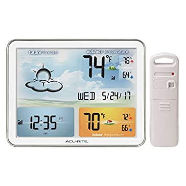 AcuRite 02081M Home Weather Station with Jumbo Display & Atomic Clock