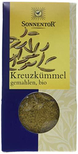 Sonnentor Kreuzkümmel gemahlen, 1er Pack (1 x 40 g) - Bio
