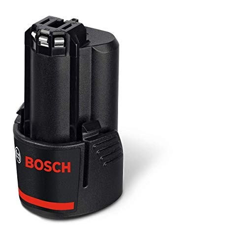 Bosch 1600Z0002X GBA Li-Ion Battery, 12V, 2.0Ah, Black