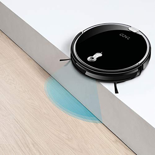 ZACO A8s Saugroboter mit Wischfunktion, App & Alexa Steuerung, 7,2cm flach, automatischer Staubsauger Roboter, 2in1 Wischen oder Staubsaugen, für Hartböden, Fallschutz, mit Ladestation - 8