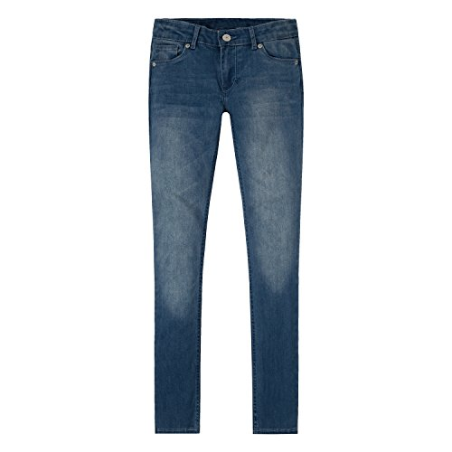 Levi's Girls' 711 Skinny Fit Jeans , Blue Winds, 12
