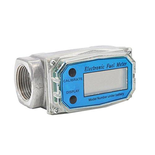 Fenteer Débitmètre Numérique 10-100L/Min