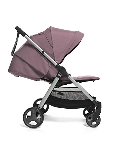 Mamas & Papas Armadillo Compact Pushchair with Lightweight Frame, One Hand Fold, Adjustable Seat, Lie Flat Position & Large UPF 50+ Protective Hood – Grape Mamas & Papas COMPACT FOLD - A compact fold that fits in the boot of a Mini, collapsing with one hand ALL IN ONE BUGGY - With no compromise on room our biggest lie-flat seat offers loads of stretching room LARGE UPF 50+ HOOD - A large UPF 50+ hood protects against rays and rainy days with a magnetic window to check on baby 2