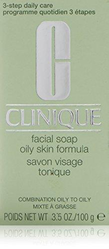 Clinique 3-Phasen-Systempflege Facial Oily Nachfüllung Gesichtsseife, 100 g