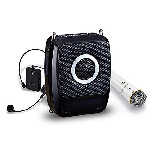 GTJXEY Amplificador de Voz, Altavoz inalámbrico portátil de Alta Potencia de 25...