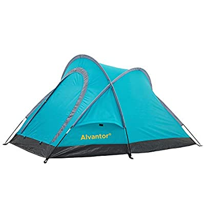 "Alvantor Outdoor Warrior Backpacking Camping Tent Portable Compact Family Tent Shelter 81""x51""x41"""