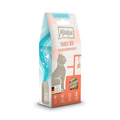 MjAMjAM Snackbox - erlesene Hühnermägen 5 x 35 g, 1er Pack (1 x 0.175 kilograms)